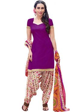 Khushali Fashion Cotton Self Unstitched Dress Material -RPSP1010015