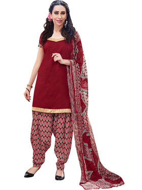 Khushali Fashion Cotton Self Unstitched Dress Material -RPSP1010018