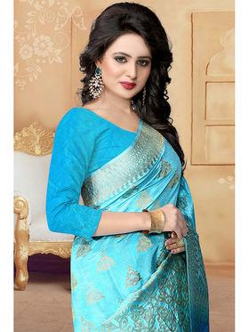 Viva N Diva Banarasi Silk and Jacquard  Saree Rinnie-1372