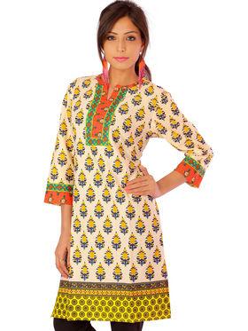 Combo of 3 Bazar Villa Cotton Printed Kurtis - BCE2055_42