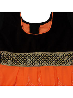 Florence Embroidered Georgette Dress Material -SB-3178