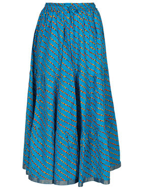 Amore Printed Cotton Skirt -Skv045Lb