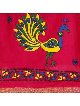 Amore Printed Cotton Skirt -Skv143B