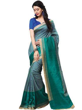 Shonaya Printed Handloom Cotton Silk Saree -Snhls-2009-B