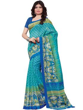 Shonaya Printed Handloom Cotton Silk Saree -Snkvs-3004-A