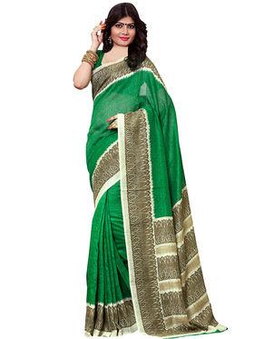 Shonaya Printed Handloom Cotton Silk Saree -Snkvs-3010-A