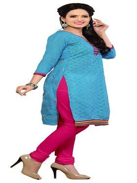 Khushali Fashion Chanderi Embroidered Unstitched Dress Material -SSKV41002