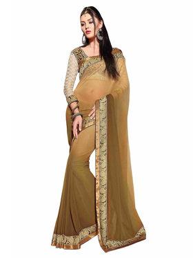 Khushali Fashion Georgette Embroidered Saree -Stast3204