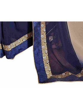 Khushali Fashion Georgette Embroidered Saree -Stast3210