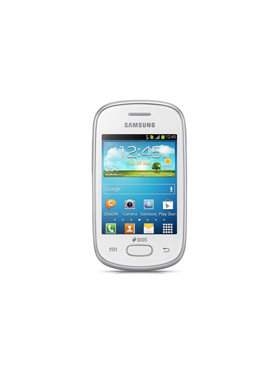 Samsung Galaxy Star Gt S5282   White available at Naaptol for Rs.4480