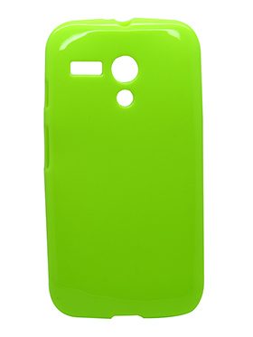 Snooky Back Cover for Motorola Moto G - Green