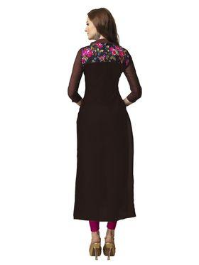 Viva N Diva Semi Stitched Chanderi Bhagalpuri Karachi Embroidered Suits Suhaani-1004