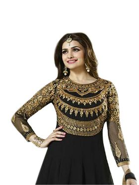 Thankar Semi Stitched  Georgette Embroidery Dress Material Tas284-143A