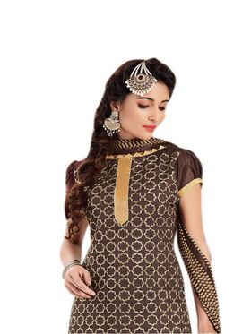 Thankar Semi Stitched  Cotton Embroidery Dress Material Tas288-2407