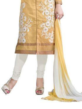 Thankar Semi Stitched  Chanderi Silk Embroidery Dress Material Tas308-6106