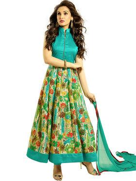 Thankar Printed Bhagalpuri Semi-Stitched Suit -Tas333-2053