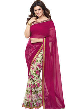 Thankar Embroidery Georgette Saree -Tds132-16634