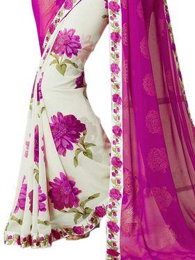 Thankar Embroidered Georgette Saree -Tds132-16647
