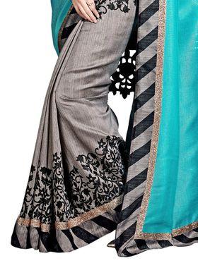 Thankar Embroidered Bhagalpuri Saree -Tds136-199