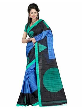 Pack of 2 Thankar Printed Bhagalpuri Saree -Tds137-219.220