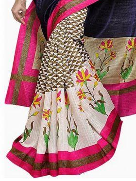 Thankar Embroidered Bhagalpuri Saree -Tds136-227