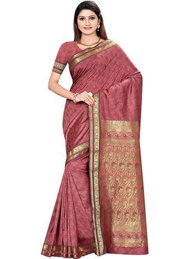 Triveni's Art Silk Zari Worked Saree -TSMRCCSR2059