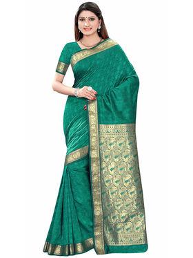 Triveni's Art Silk Zari Worked Saree -TSMRCCSR2062