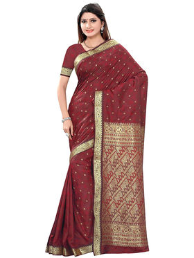 Triveni's Art Silk Zari Worked Saree -TSMRCCSR2064