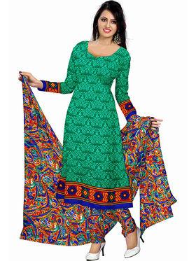 Triveni's Polyester Printed Dress Material -TSSTPMSK10010