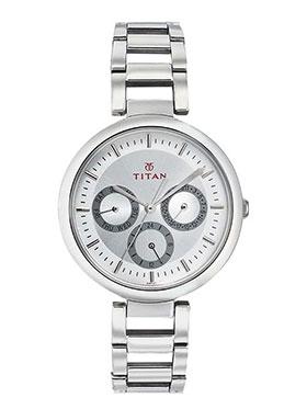 Titan Wrist Watch for Women - Silver_12339972