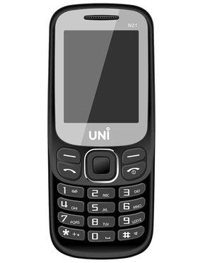 UNI N21 2.8 Inch Dual Sim Mobile - Black
