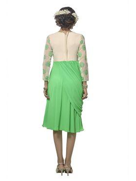 Viva N Diva Georgette Floral Embroidery Kurtis -Vnd Vol 03-1011