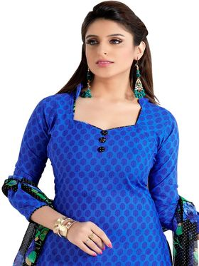 Khushali Fashion Cotton Printed Unstitched Dress Material -VRCC39036