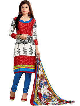 Khushali Fashion Silk Printed Unstitched Dress Material -VRIS21017