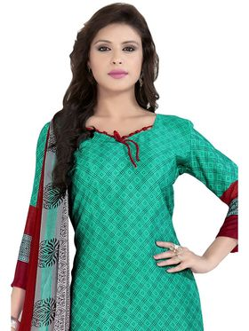 Khushali Fashion Crepe Printed Dress Material With Two Top -Vrmgev25028