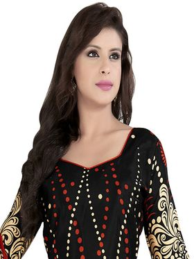 Khushali Fashion Crepe Printed Dress Material With two Top -VRMGEV25029
