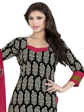 Khushali Fashion Crepe Printed Dress Material With two Top -VRMGEV25030