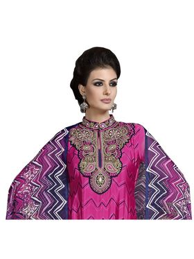 Khushali Fashion French Crepe Embroidered Dress Material -Vrvmtr6011