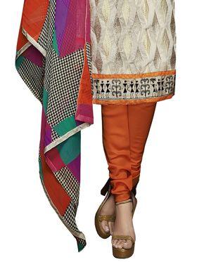 Khushali Fashion Chanderi Embroidered Unstitched Dress Material -VSIDC451014