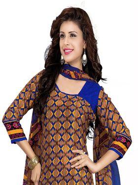 Khushali Fashion Silk Printed Unstitched Dress Material -VSPKV24433