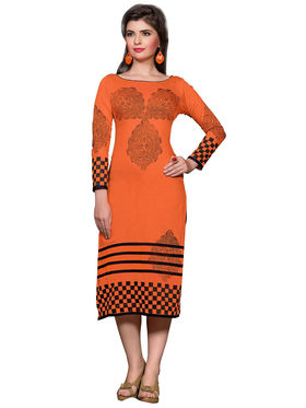 Khushali Fashion Cotton Printed Stitched Kurti -Vt2102