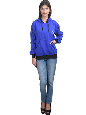 Eprilla Wool Plain  Sweatshirt - Blue -eprl71