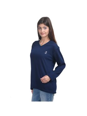 Pack of 3 Eprilla Spun Cotton Plain Full Sleeves Sweaters -eprl49