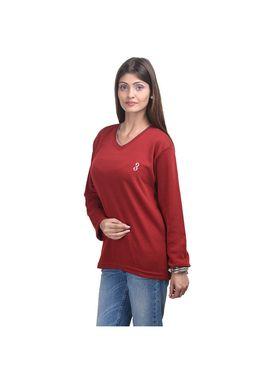 Pack of 2 Eprilla Spun Cotton Plain Full Sleeves Sweaters -eprl38