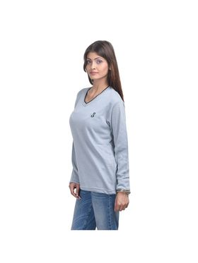 Pack of 3 Eprilla Spun Cotton Plain Full Sleeves Sweaters -eprl52