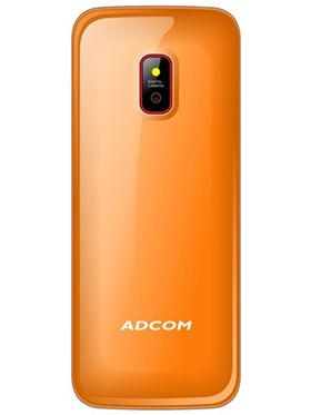 Adcom Fun X16 Dual Sim Mobile - Black&Orange