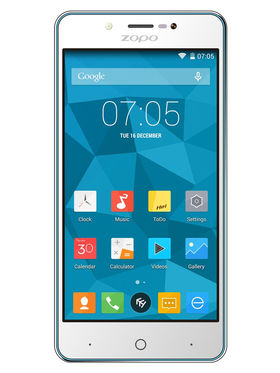 ZOPO ZP353 5 Inch HD,IPS Quad Core Android Lollipop 5.1 Smart Phone - Blue