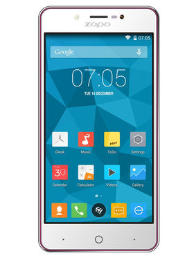 ZOPO ZP353 5 Inch HD,IPS Quad Core Android Lollipop 5.1 Smart Phone - Red