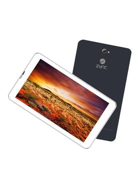 Zync Dual Z777 Dual Core Dual Sim (2G+3G) Calling Tablet (RAM : 512 MB; 4 GB ROM) With Free in Box Keyboard - Black