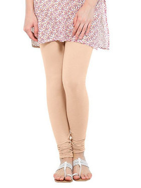 Oh Fish Solid Cotton Stretchable Leggings -zwe87